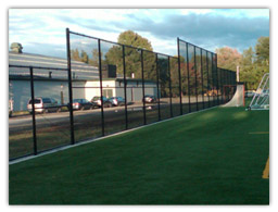 Fence at Athletic Field